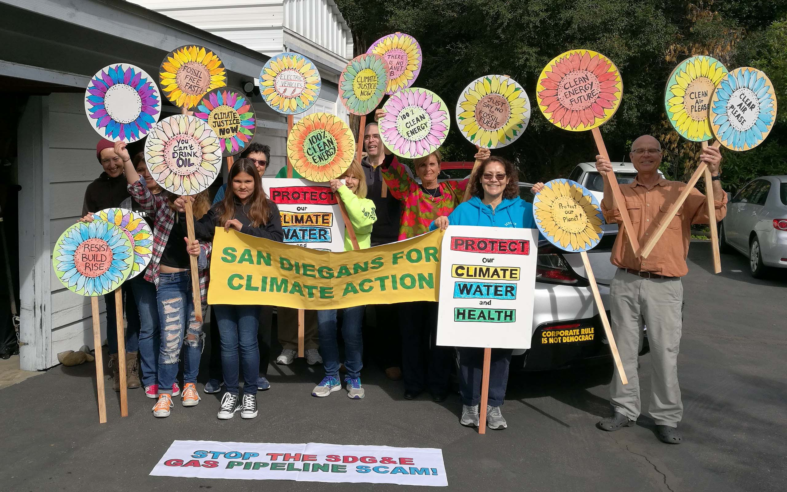 Rise For Climate March San Diego | Global Climate Action Summit