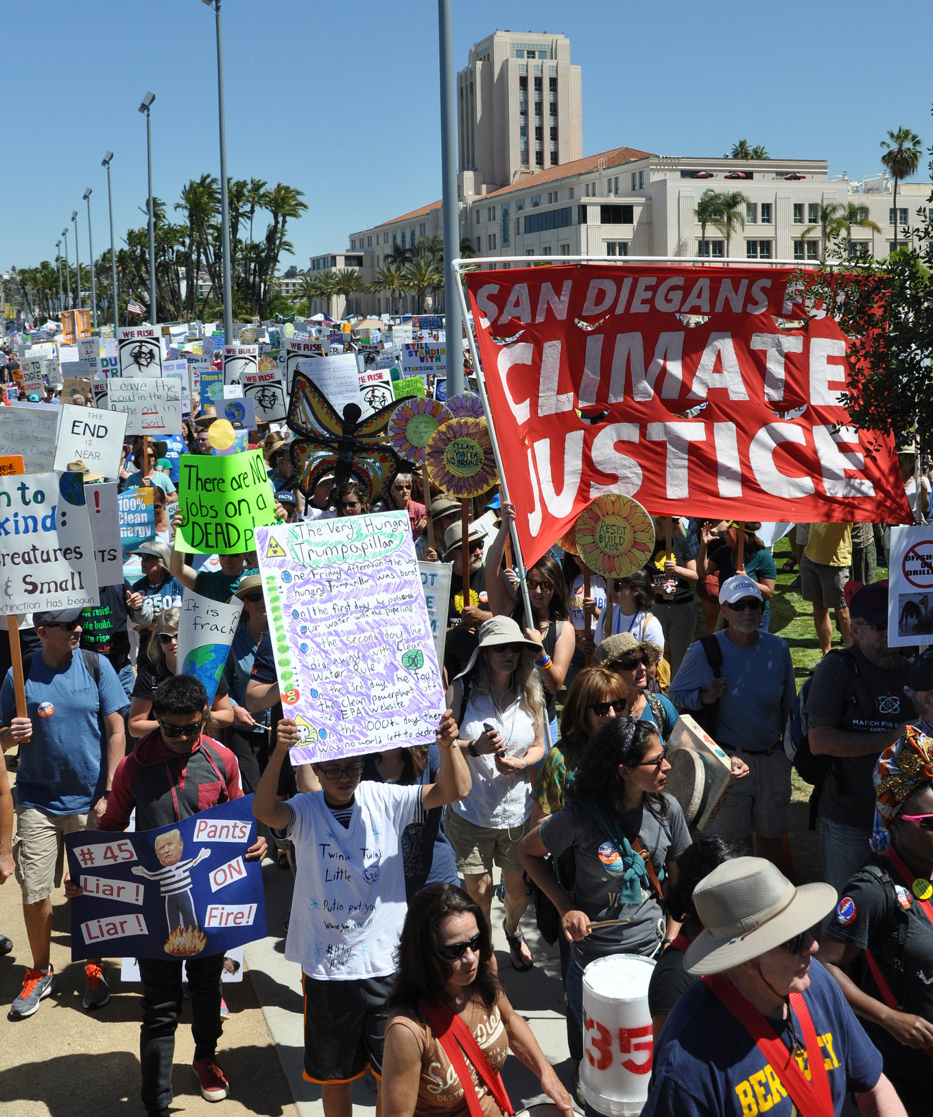 Rise for Climate March San Diego